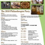 """The 2010 philanthropist Party"""